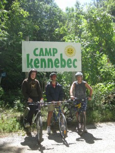 Camp Kennebec Directions: look for our camp sign