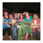 Ladies night at Camp Kennebec