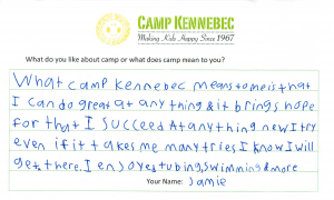 At our Camp Information night, you'll learn why Kennebecers are so passionate about Camp