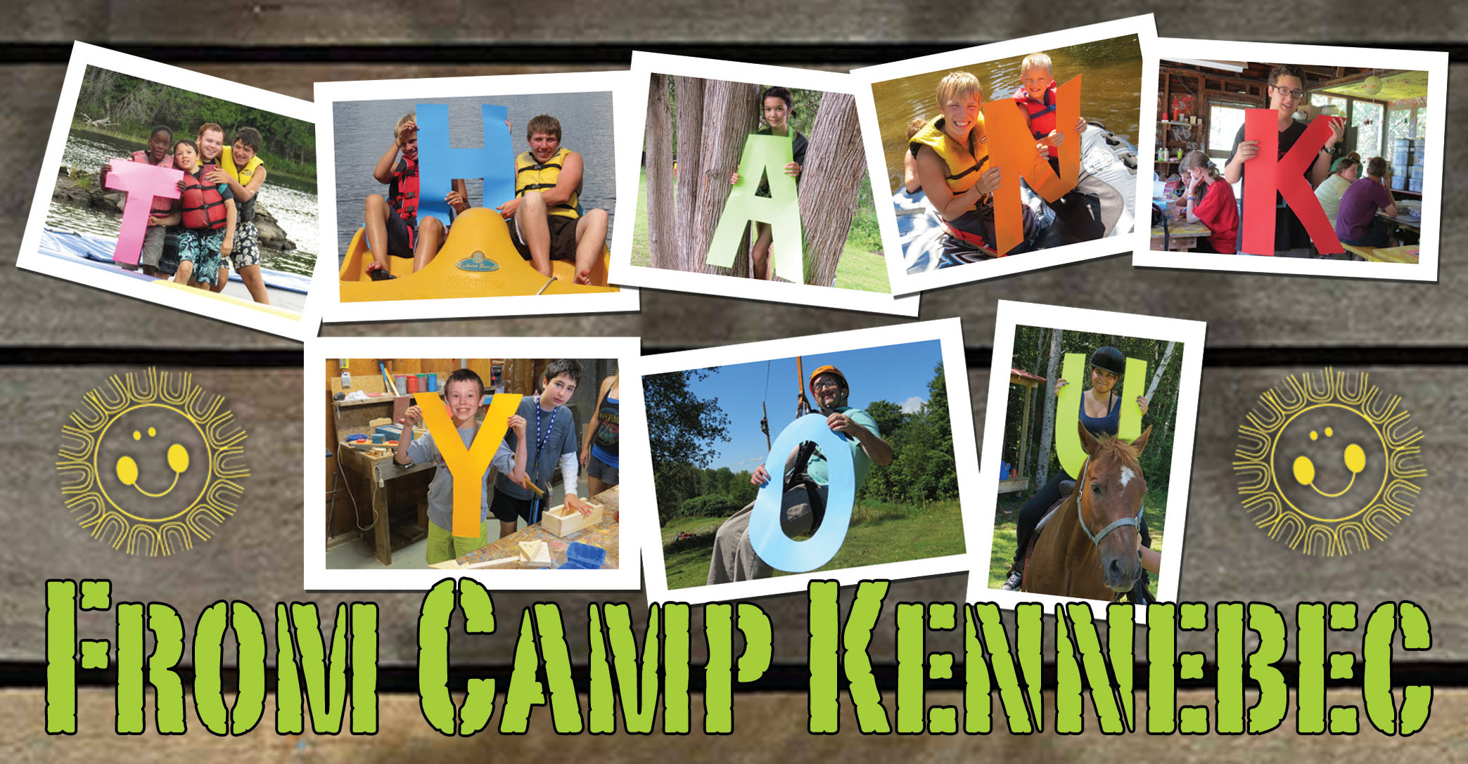Thank You for Another Great Camp Kennebec Summer